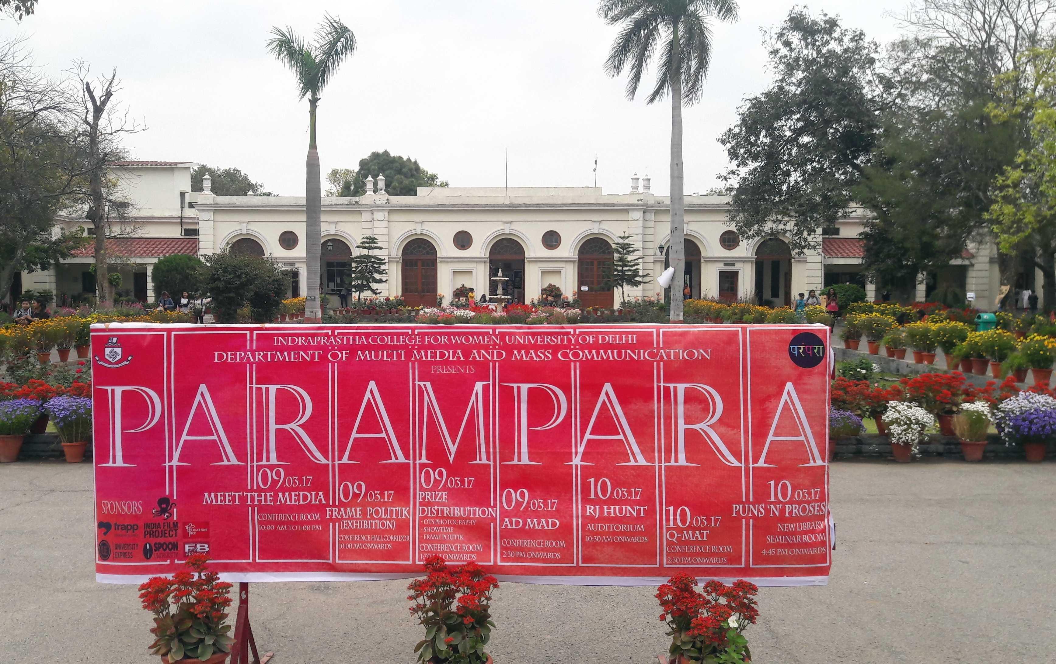 Parampara fest-IP College-fnbworld-photo by Ridhi Chhabra