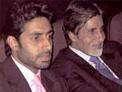 Amitabh and Abhishek Bachachan