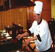 Chef Raymond Sim