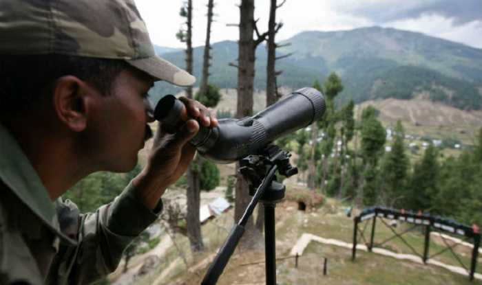 Indian Army watches over on guard-fnbworld