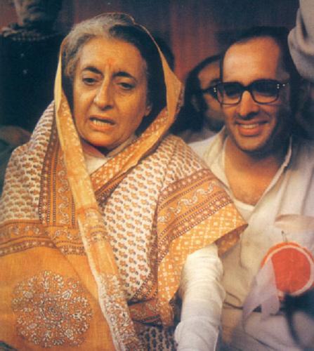 Indira and son Sanjay Gandhi-fnbworld-seema mustafa
