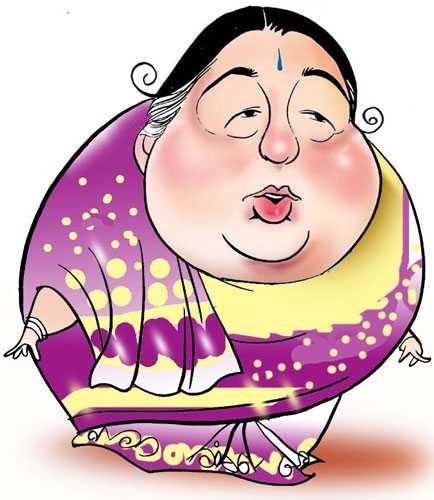 Jayalalitha: Size Matters