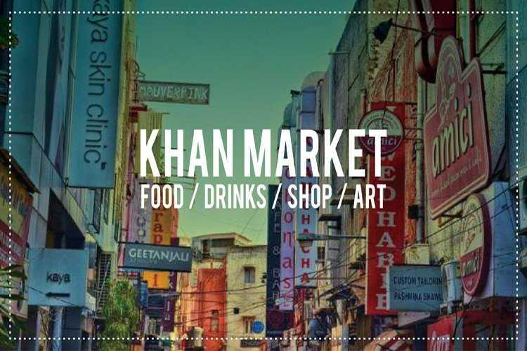 Packed lane in Khan Market-fnbworld