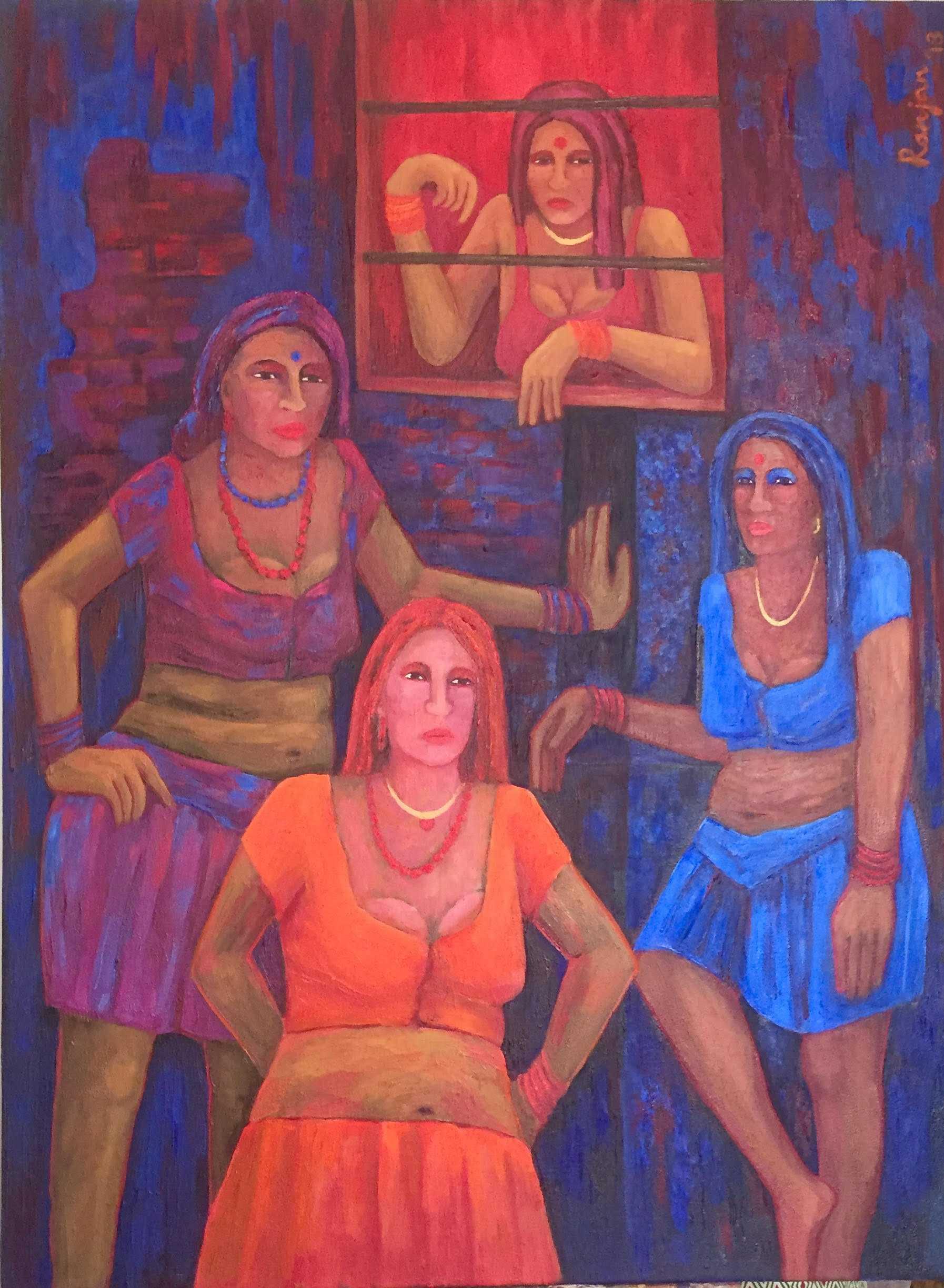 Ladies in waiting-ranjan kaul- fnbworld