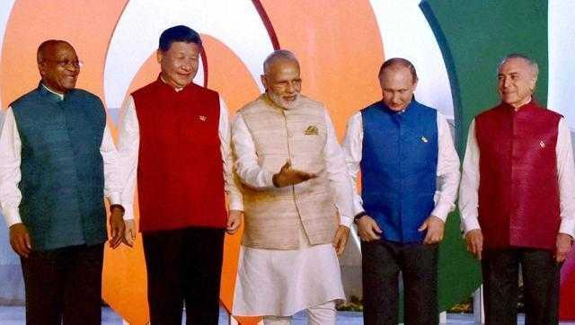 Leaders at BRICS-2016 summit-fnbworld