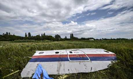 Malaysian Airways MH 17 blown to smithereens-fnbworld