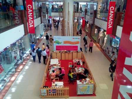 Inside view of the mall-fnbworld