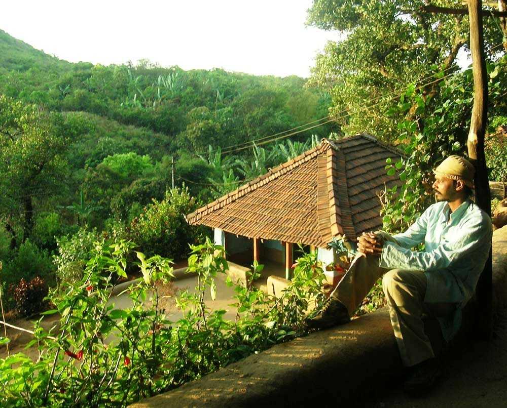 Manjunath overlooking the dense jungles-fnbworld