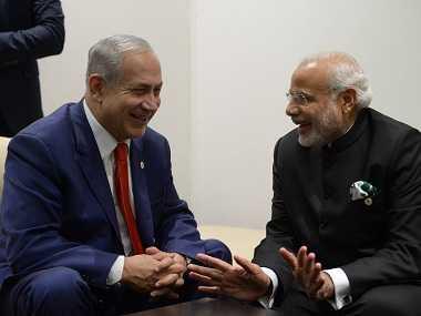 Netanyahu-Modi-fnbworld