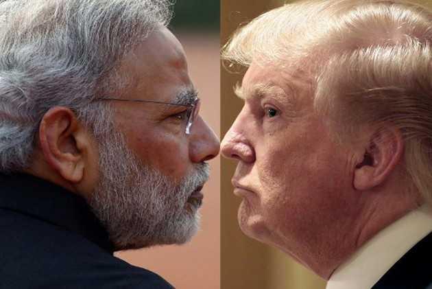 PM Modi and President Trump-fnbworld
