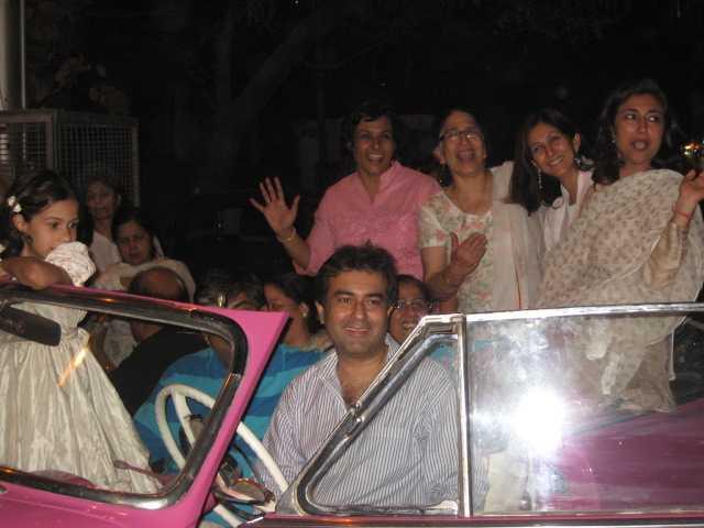 NECA  RWA  office-bearers Asha Kohli, Rahul Sawhney in a joyous mood