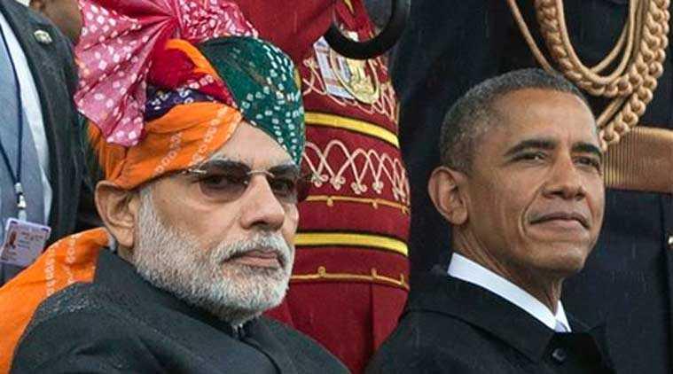 PM Modi with President Obama-fnbworld