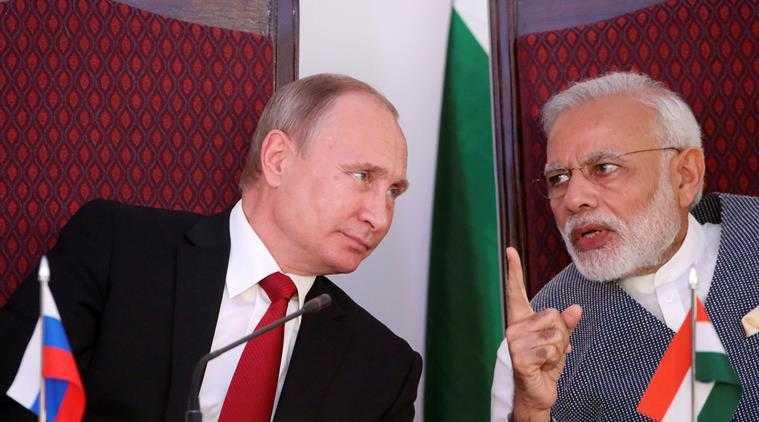 Putin and Modi -careless whispers
