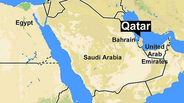 Qatar map-fnbworld
