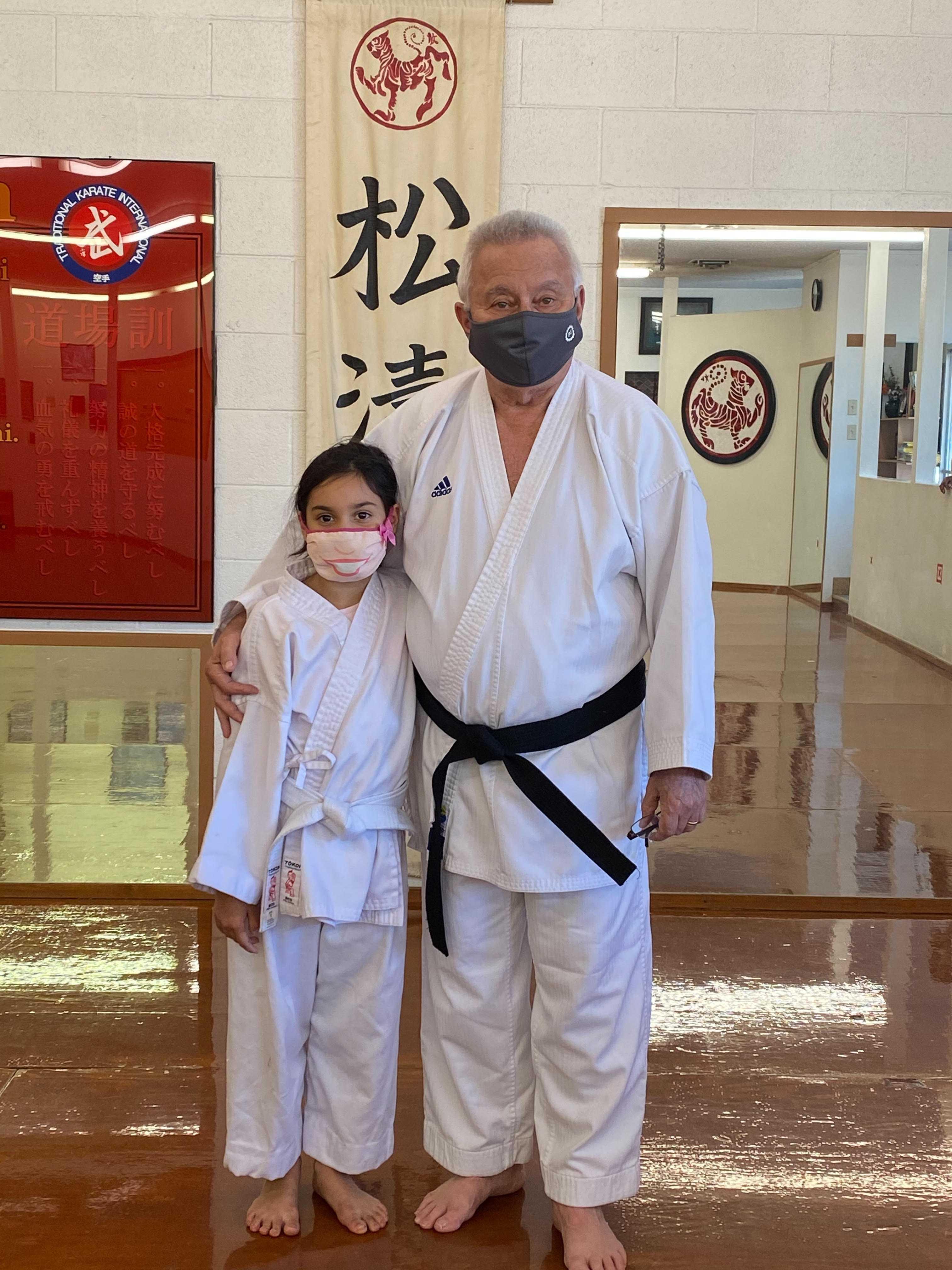 Senpei Davi with grand-daughter-fnbworld
