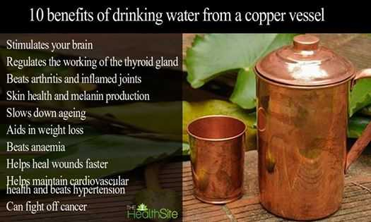Drinking water from copper vesseal-fnbworld-factiology