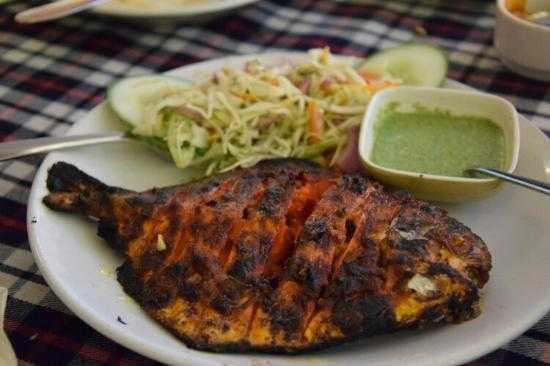 Goan cuisine at Colva Beach-Goa-fnbworld