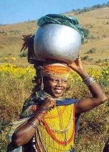 A Bonda tribal woman-fnbworld