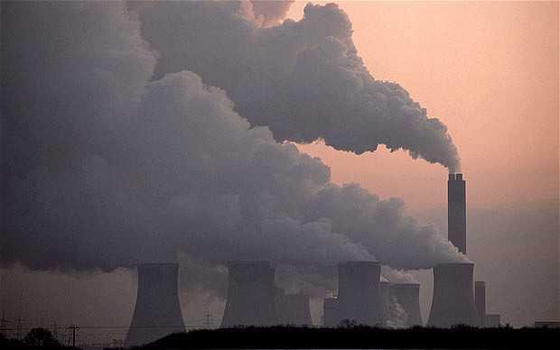 Coal is a major pollutor