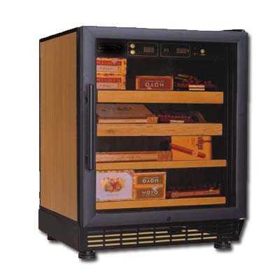 A cigar cabinet