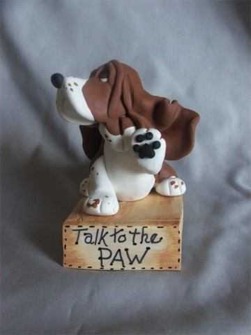 love is...snoopy dog cake
