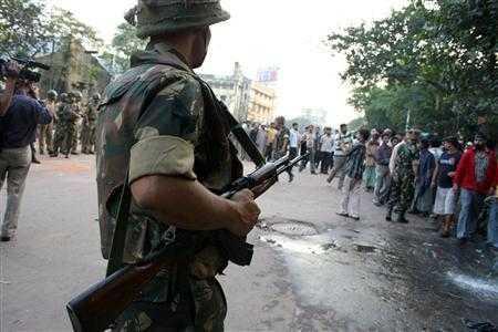Post-curfew in Kolkatta-fnbworld
