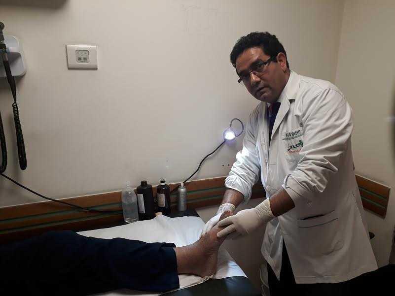 Dr. Govind Singh Bisht -l eading podiatrist-fnbworld