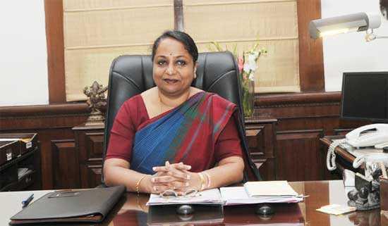 Foreign Secretary Sujatha Singh