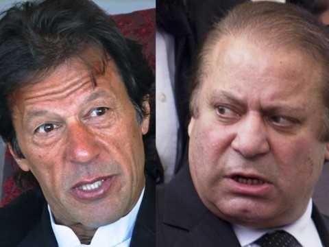 Imran Khan and Nawaz Sharif-fnbworld