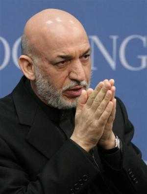 Afghan Prez Karzai:  Do folded  hands deliver?