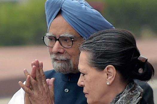 Manmohan  Singh and Sonia Gandhi-fnbworld