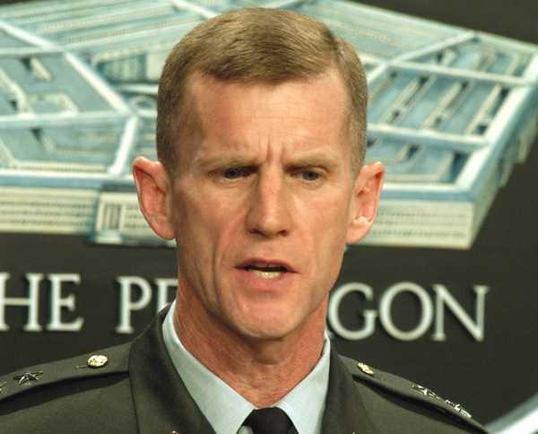 US General Stanley MacChrystal