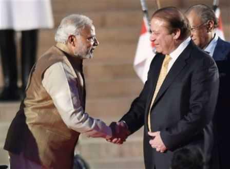 Nawaz Sharif-Narendra Modi-fnbworld