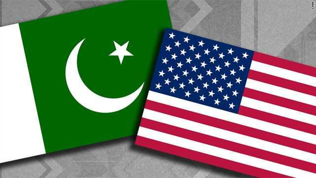 US-Pak flags- strange bed fellows