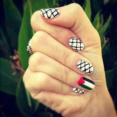 Palestinian woman's hand-fnbworld