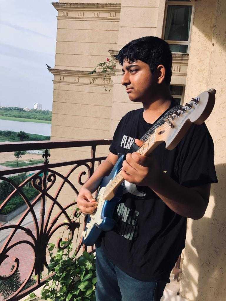 Amithav Gautam in balcony-fnbworld