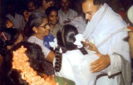 Moments before Rajiv Gandhi's assassination-fnbworld