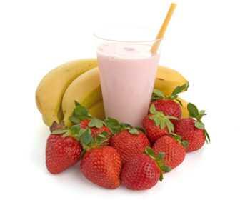 Strawberry-banana smoothie-fnbworld