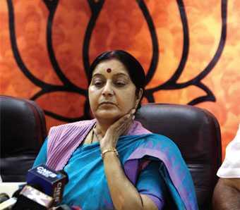 Sushma Swaraj-fnbworld