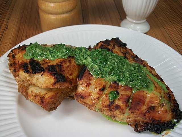 Microwaved Tandoori Chicken