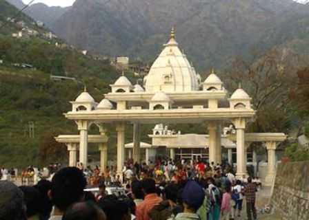 At Vaishno Devi