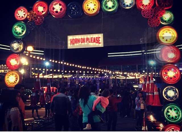 Food Truck Fest at night time-fnbworld