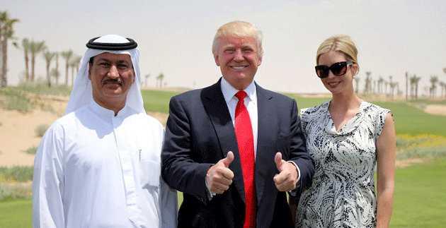 Trump in Dubai-fnbworld