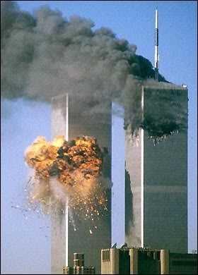 Now, fallen Twin Towers