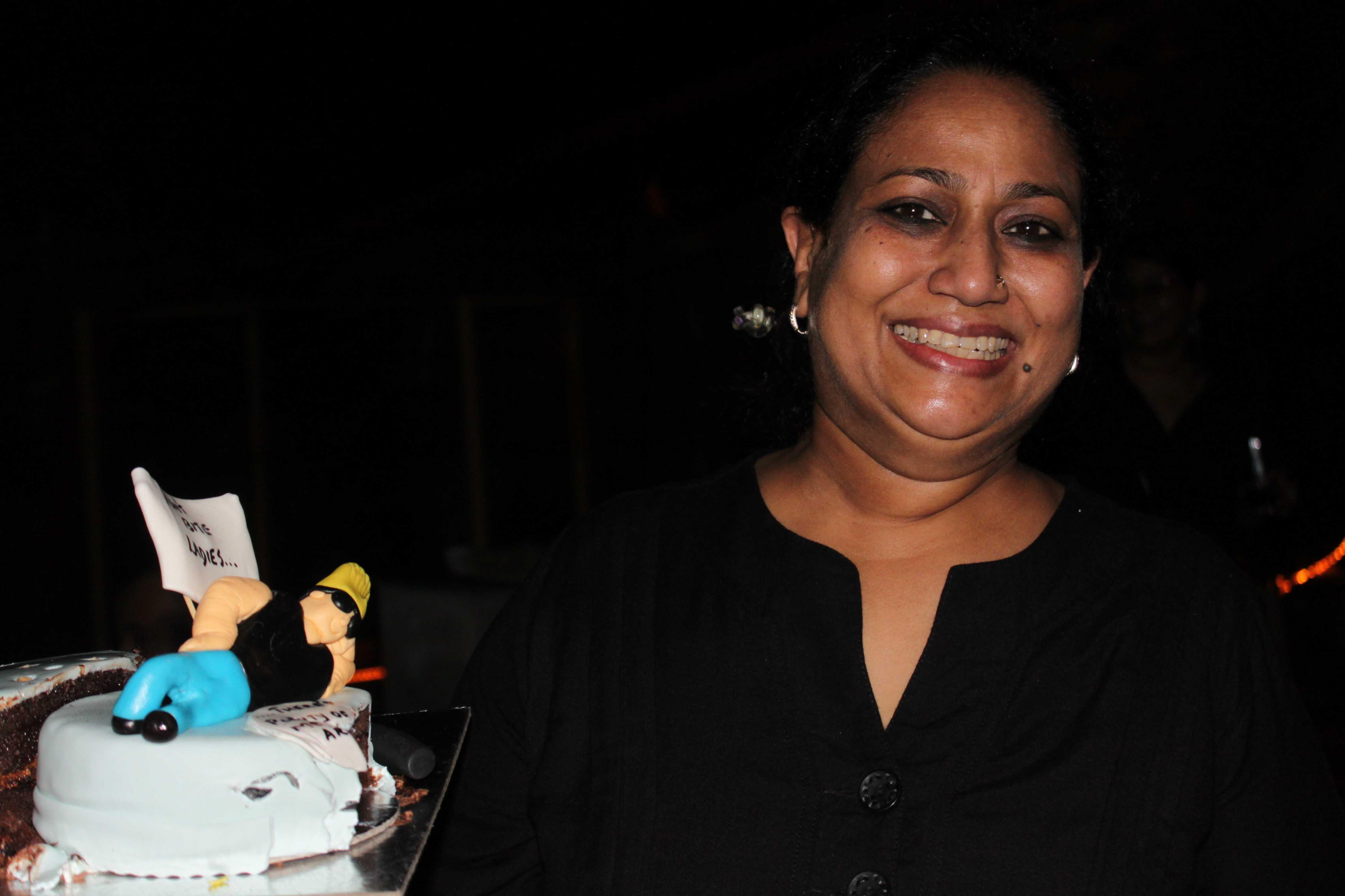 Vinita Mehta, the brainchild behind Love is..Cakes