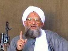 Al Qaedai's Zawahiri